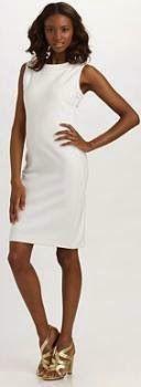 Un vestido recto no puede faltar en el armario de ninguna mujer. Descarga este patrón gratis: vestido recto básico,