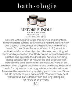 Restore Bundle by Bathologie