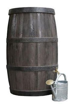 Rainwater Barrel Butt 500 litre - free tap and choice of filter/diverter £299.00! This new Rainwater Barrel water butt combines excellent German innovative design and quality construction with a beautiful aesthetic finish -perfect for the garden. The vast 500 litre capacity will help you water the garden for free during the drier periods of summer. The thick opaque plastic blocks out light limiting algae growth with a self cleaning feature filter. www.freeflush.co.uk #Gardening #Garden…