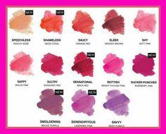 Younique stiff upper lip lip stains  6 new shades