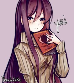 """Yuri is best girl"" - by PeachCake. 