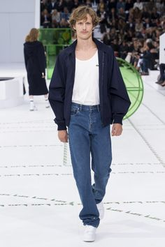 Lacoste Spring 2018 Ready-to-Wear Fashion Show Collection