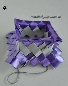Lilla vase Diy Wallet, Dyi, Recycling, Weaving, Gift Wrapping, Band, Gifts, Handmade, Accessories