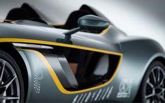 Aston Martin CC 100 : un Concept Car pour le 100e anniversaire de la marque anglaise