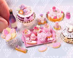 2017. Miniature Cakes♡ ♡ By Paris Miniature
