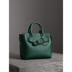a9ef37cae6d The Small Leather Belt Bag in Dark Cyan - Women   Burberry United States  Rainbow Bag