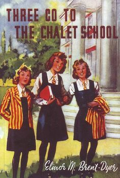 20. Three Go To The Chalet School by Elinor M. Brent Dyer