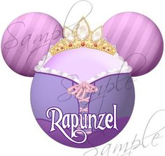 Tangled Rapunzel inspired Character DIGITAL by SwirlyColorPixels, $3.00