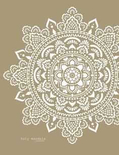Mandala wall stencils DIY for home of work place decor. Mandala Ibiza wall stencils to pimp your home, garden, office, shop, restaurant or club! We have 8 different mandalas in different sizes from which you can choose! Mandalas Painting, Mandalas Drawing, Mandala Print, Mandala Tapestry, Stencil Templates, Stencil Diy, Lace Stencil, Art On Wall, Large Wall Stencil