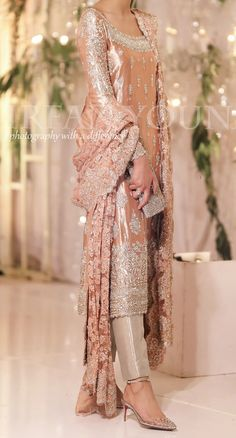 We aspire to create a platform that gives our customers a memorable shopping experience. Custom made and Worldwide shipping Available . Pakistani Party Wear Dresses, Nikkah Dress, Shadi Dresses, Pakistani Wedding Outfits, Pakistani Bridal Dresses, Pakistani Dress Design, Bridal Outfits, Indian Dresses, Indian Outfits