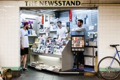 Pop-up newstand - Bloomingdales could take over certain newstands