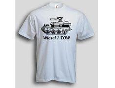 T-Shirt Wiesel 1 TOW / mehr Infos auf: www.Guntia-Militaria-Shop.de