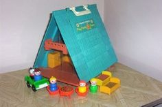 Fisher Price Little People A-Frame House
