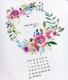 @plutoandtopaz So pretty! Bullet journal calendar