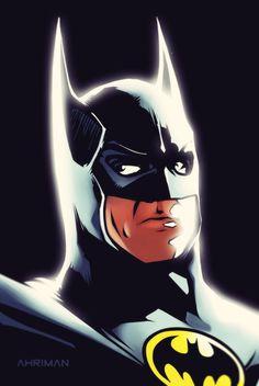 Batman sketch by Ahrrr.deviantart.com on @deviantART
