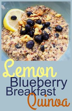 This gluten-free breakfast quinoa is reminiscent of oatmeal. It's an easy make-ahead, protein-packed breakfast for the week!