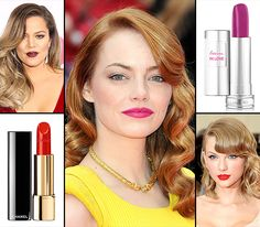 How to Wear Bold Lipstick Like a Celebrity - Us Weekly