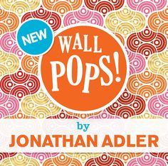 Jonathan Adler Wallpops New Wall Decals