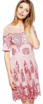 ASOS Pink Skater Beading Dress. Save 25% on this beautiful ASOS Pink Skater Beading Dress Could you get it for less? Click here to find out!