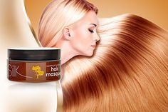 £9.99 instead of £24.95 (from Silk Oil of Morocco) for a Moroccan Argan Oil Intense Hydrating Hair Masque - save 60%