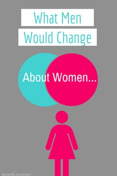 """n our new book He Said She Said we surveyed over 1000 married people on communication. On a whim we added one simple question at the end of the survey. """"If you could change one thing about the opposite sex, what would it be?""""…  http://www.jayandlaura.com/what-would-men-change-about-women/"""