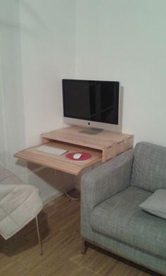 Mini Computer Tisch Birke München 2014