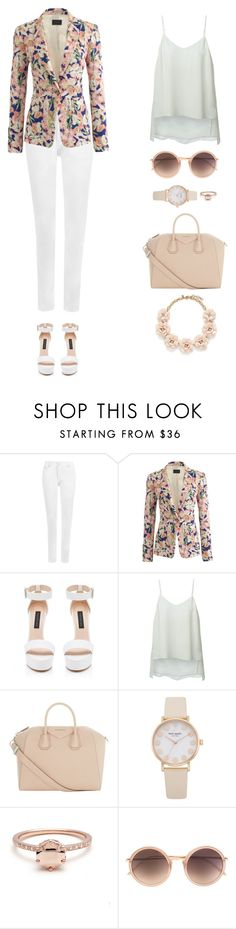 """Spring Jacket"" by styleskater7 ❤ liked on Polyvore featuring WearAll, J.Crew, Forever New, Theory, Givenchy and Linda Farrow"