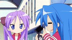 Lucky Star- coolest flip phone ever!