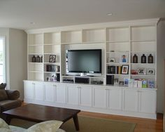 Built In Entertainment Center Design Ideas contemporary cream family room club chairs built in entertainment centerfamily Finshed Basements Design Pictures Remodel Decor And Ideas Page 59 Basement Built In Built Inswoodwork Pinterest Pictures Built Ins And