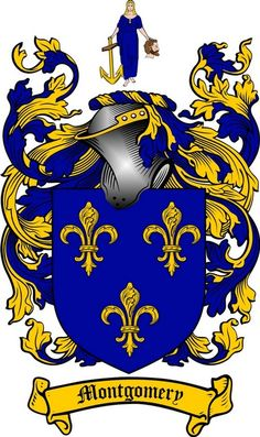 MONTGOMERY FAMILY CREST - COAT OF ARMS gifts at www.4crests.com