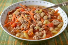 Sausage and White Bean Soup Recipe from Hot Eats and Cool Reads