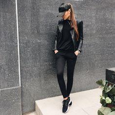 All black apparel