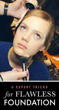 6 Tricks for Flawless Foundation