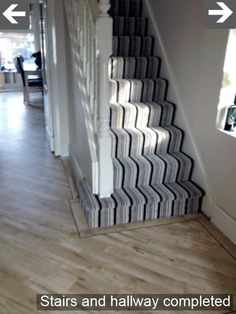 Latest Free White Carpet Stairs Concepts One of the fastest ways to . Latest Free White Carpet Stairs Concepts One of the fastest ways to freshen up your tired old stair Grey Striped Carpet, Striped Carpet Stairs, Striped Carpets, White Carpet, Stair Carpet, Hall Carpet, Bedroom Carpet, Living Room Carpet, Living Rooms