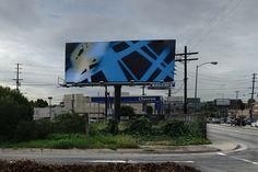 Contemporary Artists Take Over LA Billboards | Hunie