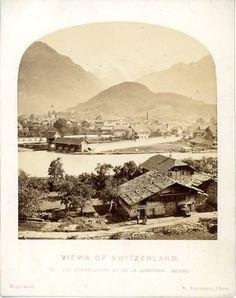 William England, Views of Switzerland, Vue d'Interlaken et de la Jungfrau     #Europe #Suisse_Schweiz