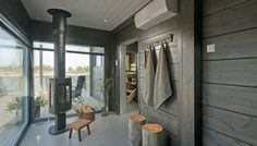 Look at the website above just click the bar for additional choices in house sauna Sauna House, Finnish Sauna, Home Greenhouse, Wooden House, House Made, Log Homes, Home And Living, Villa, Cottage