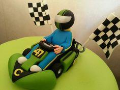 Slime Green Go Kart