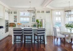 Coastal chic - beach-style - Kitchen - Providence - Kate Jackson Design
