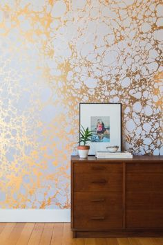 Tempaper Garden Metallic Temporary Wallpaper Discover Pinterest And Adhesive
