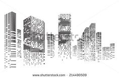 Stock Images similar to ID 77653069 - vector city