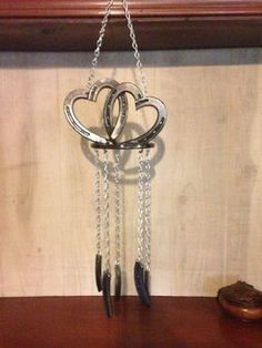 Horseshoe Heart Wind Chimes,