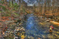 Beautiful trout stream...