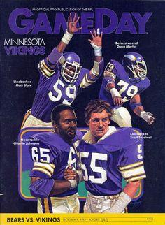 "Cover illustration for the 1983 Minnesota Vikings ""Fact Book"" Equipo Minnesota Vikings, Minnesota Vikings Football, Best Football Team, Nfl Football, Minnesota Vikings Wallpaper, Viking 1, Viking Ship, Viking Facts, Vikings Cheerleaders"