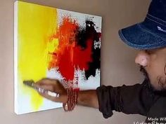 "Acrylic Abstract Painting Demonstration ....2017.....""Heaven On Earth"" - YouTube"