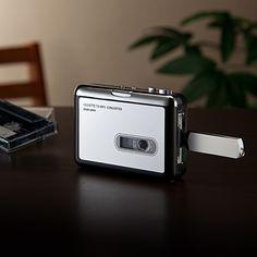 【新商品】カセットテープのアナログ音源を、デジタル保存できるMP3変換プレーヤー。パソコン不要で、USBメモリに直接保存できる、USB変換プレーヤー。【WEB限定商品】