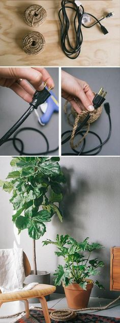 Extension cord cover up