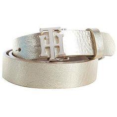 Accessoire ceinture Tommy Hilfiger pour Femme   couleur  Or   B-2XZP 7aba228c959