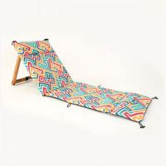 Gorsh.net | Reposera Chilly Maze Yoga Props, Fabric Toys, Outdoor Furniture, Outdoor Decor, Organization Hacks, Sun Lounger, Wood Crafts, Beach Mat, Outdoor Blanket
