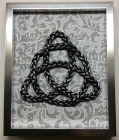 DIY Celtic Knot wall art - dollar store craft!